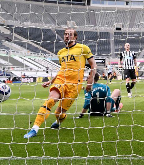 Twee goals Kane niet genoeg voor zege Spurs bij Newcastle