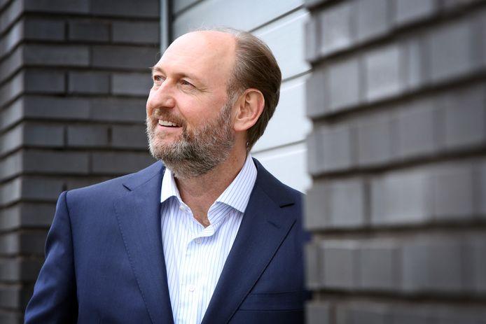 Raymond Kouwenberg, de nieuwe voorzitter van de afdeling Breda van werkgeversvereniging VNO NCW.