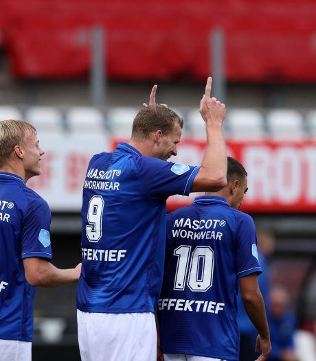 SC Heerenveen zet Sparta pijnlijk voor schut op Het Kasteel