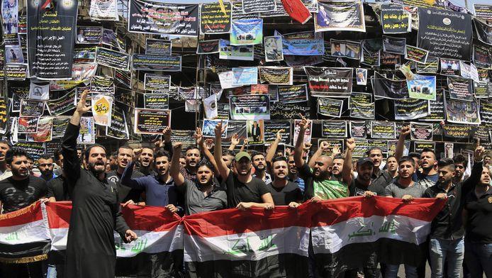 Manifestation anti-EI à Bagdad