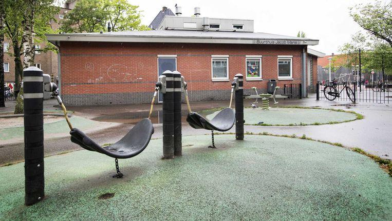 Het pand van de voormalige kinderopvang 24/7 Kids op het Columbusplein in West Beeld ANP