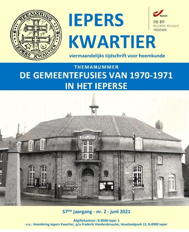 De voorpagina van de nieuwe publicatie van de Heemkring.