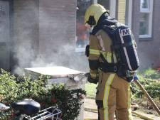 Wasdroger vat vlam: appartement Hengelo vol met rook