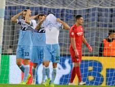 Spektakel barst los in slotfase bij Lazio en Sampdoria