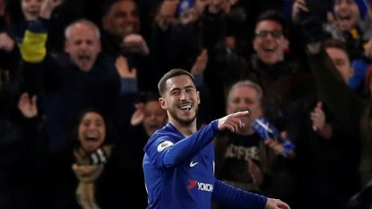 Goals nr. 6 en 7 voor Hazard dit jaar