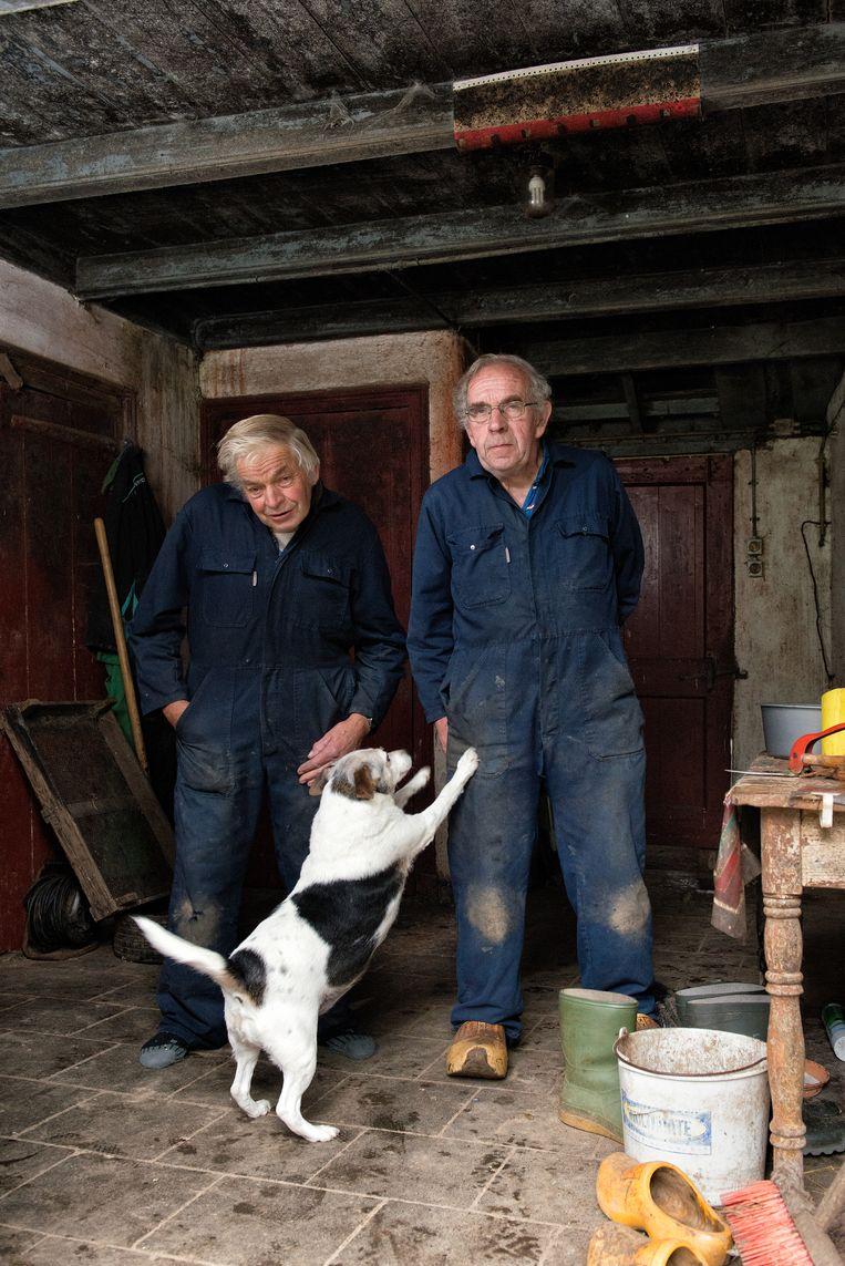 Fotograaf Kees Muizelaar ging langs bij dorpelingen en boeren. Beeld Kees Muizelaar