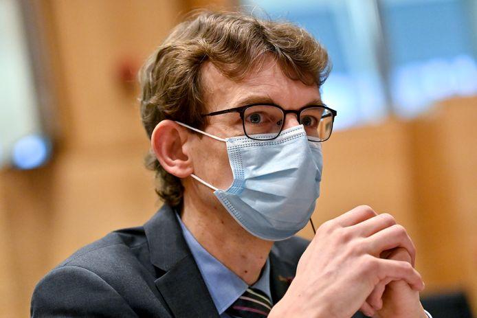 Roel Van Giel, président de Domus Medica, auditionné ce vendredi matin en commission spéciale Covid de la Chambre.