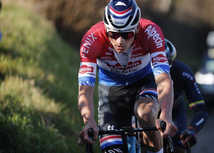 Il n'a manqué que deux kilomètres à Mathieu van der Poel et ses compagnons d'échappée.