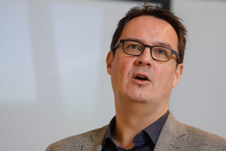 Danny Van Assche van Unizo is verontwaardigd. Beeld BELGA