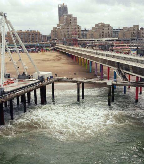 Reuzenrad op de Pier begint nu echt vorm te krijgen