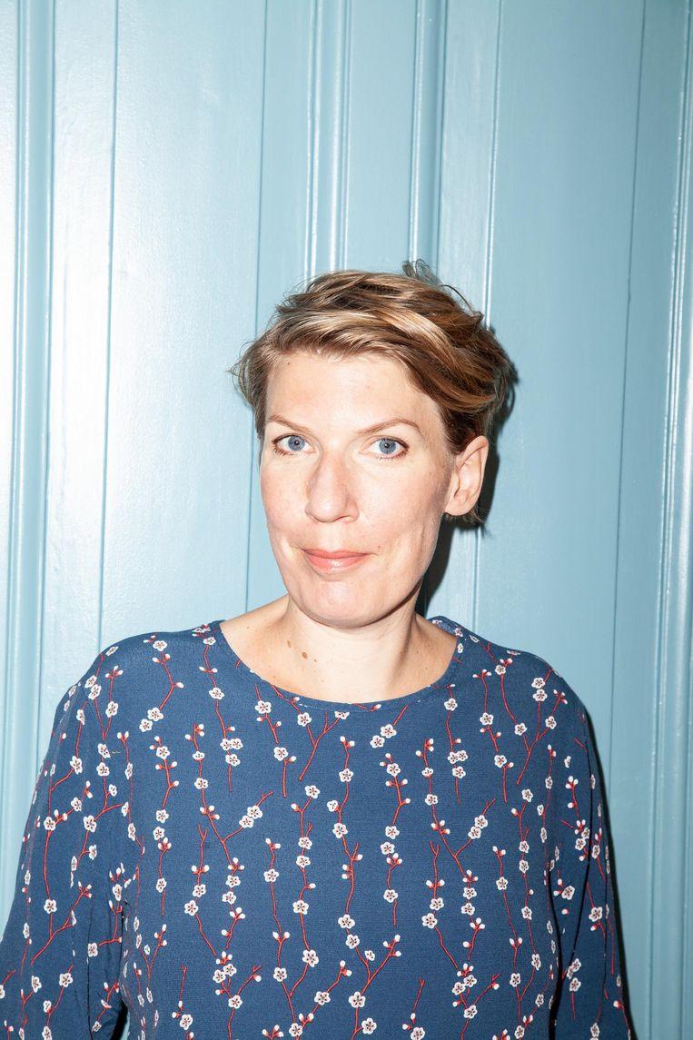 Paulien Cornelisse: 'Ik ben trouwens minstens twaalfde generatie Amsterdammer' Beeld Linda Stulic