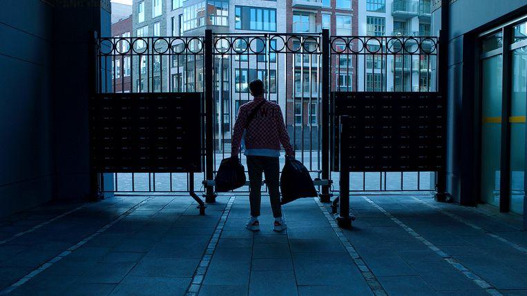 Snelle in de Netflix-documentaire Zonder jas naar buiten. Beeld