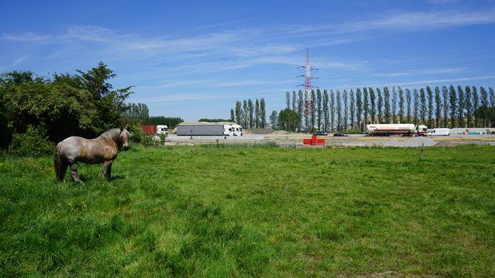 In het gebied tussen de E34 en N70 zullen de komende dagen verschillende stalen worden genomen