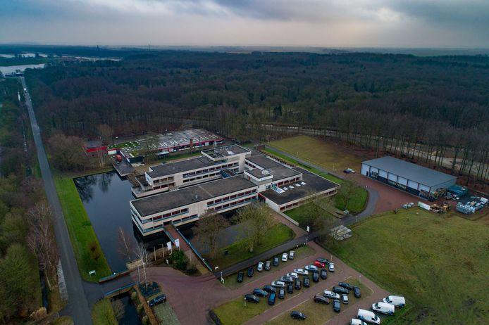 In het Dyntes Tech Park in Marknesse naast het Waterloopbos wil Fletcher een hotel openen.