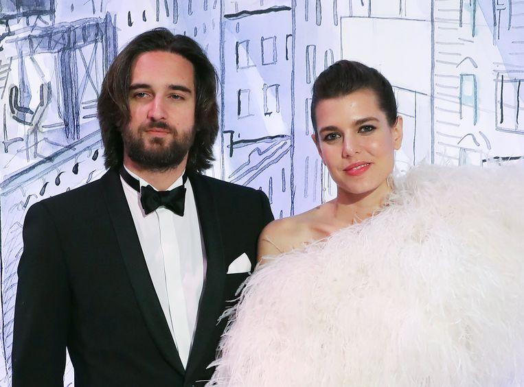Charlotte Casiraghi en haar verloofde Dimitri Rassam.