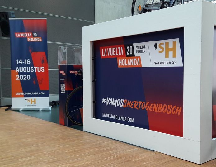 De tweede etappe van de Vuelta vertrekt op 15 augustus 2020 vanuit Den Bosch.