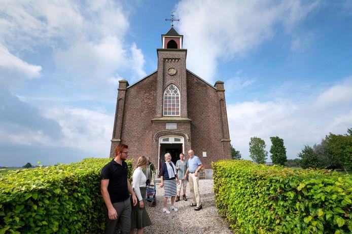 De hervormde kerk in Homoet deed zaterdag ook mee aan Open Monumentendag.