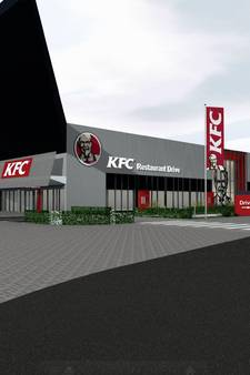 Nieuwe Kentucky Fried Chicken krijgt drive-thru, 13 parkeerplaatsen moeten wijken