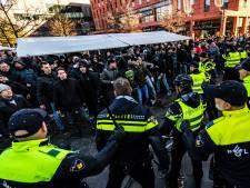 Voor- en tegenstanders Zwarte Piet stonden in Eindhoven oog-in-oog