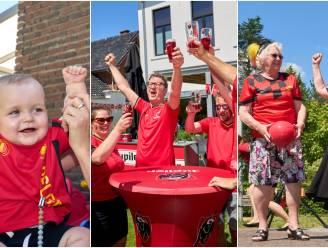 """#REDCHALLENGE. Bierbeek gaat uitdaging aan en kleurt helemaal rood: """"Een voetbalfeest voor alle leeftijden!"""""""