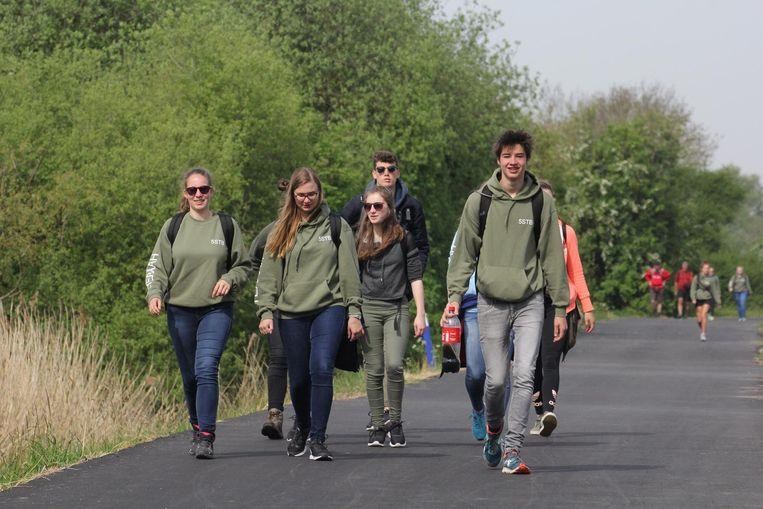 Op stap langs de Palingbeek in Zillebeke.