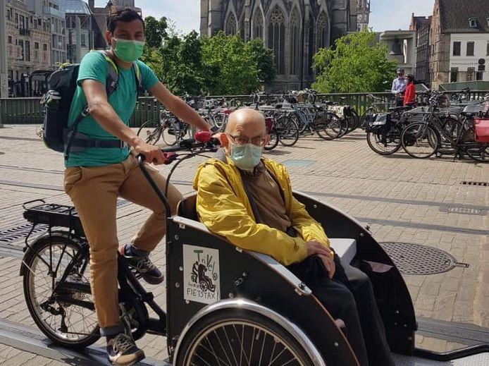 Binnenkort te zien in het centrum: de fietstaxi's van Trivelo