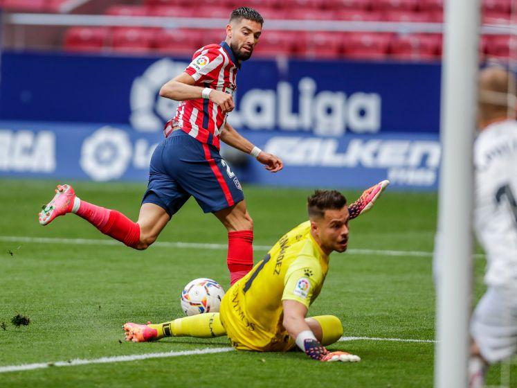 Atlético wipt weer over Real naar kop La Liga
