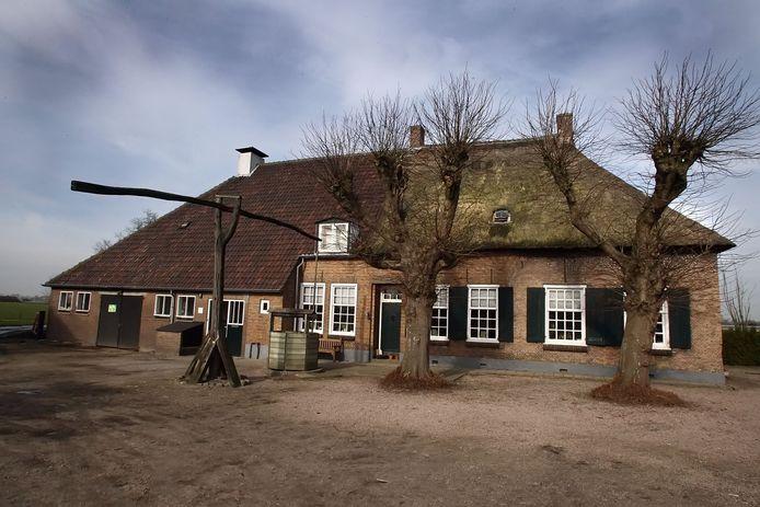 Landgoed Prinsenhoef aan de Zanddreef in Prinsenbeek.