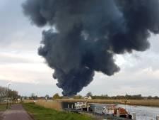 Asbest vrijgekomen bij grote brand in Broek op Langedijk