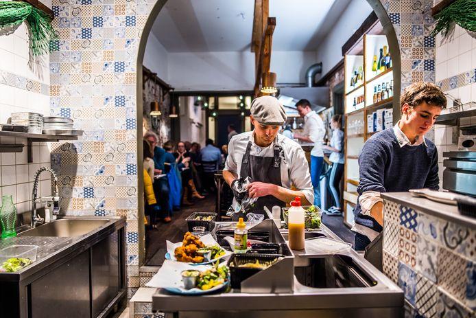 Restaurant De Zilte Zeemeermin in Arnhem.