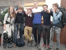 Studenten terug in Nijmegen na week onzekerheid in Nepal: 'Een opluchting om weer hier te zijn'
