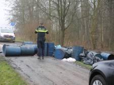 Flinke dumping van cocaïnewasserij gevonden in Zevenbergen: 'Chemisch en levensgevaarlijk'