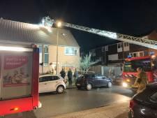 Schoorsteenbrand bij woning in Almelo