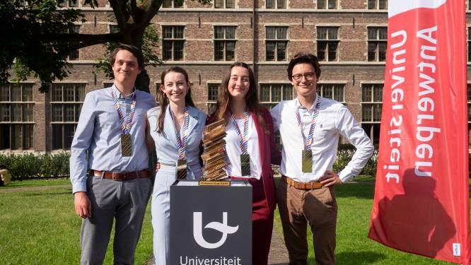 """Antwerpse rechtenstudenten winnen Campus Cup: """"Het moeilijkste? Anderhalve maand onze overwinning verzwijgen"""""""