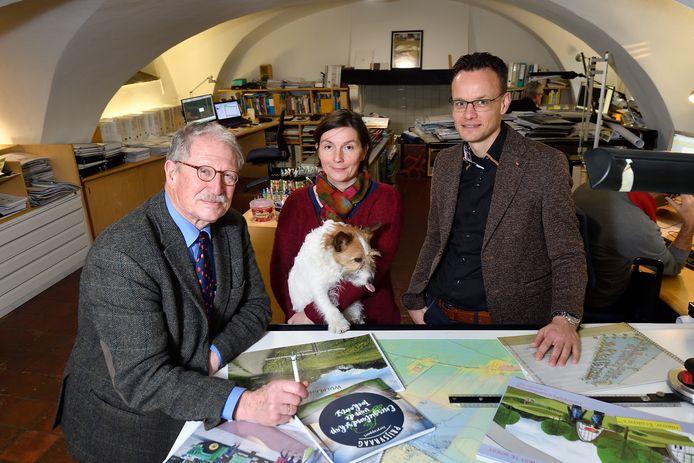 De driekoppige directie: Dick Haver Droeze, dochter Lidewij en Nico van Niejenhuis.