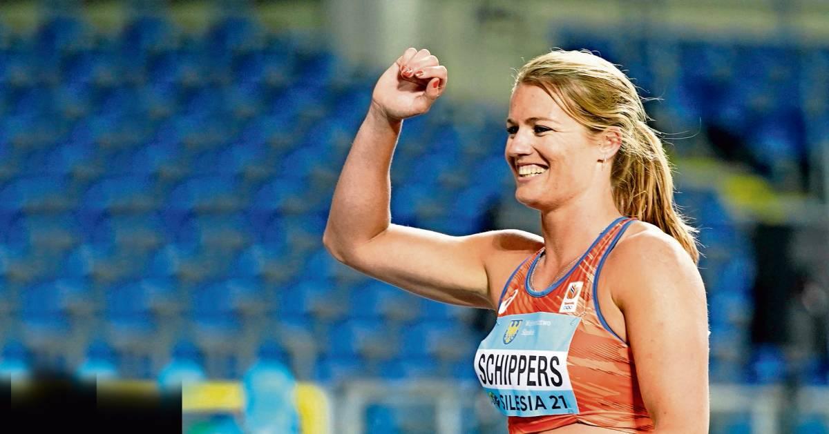 Dafne Schippers start in 'haar' Hengelo op 100 meter: 'Lopen voor eigen publiek geeft iets extra's'