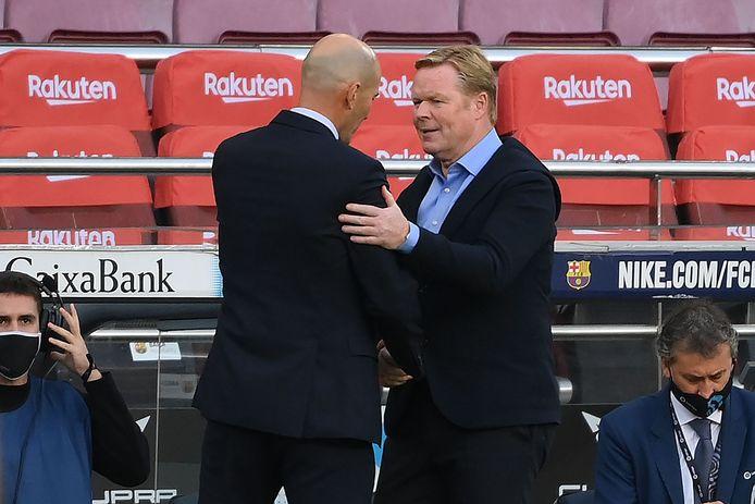 Zidane en Koeman