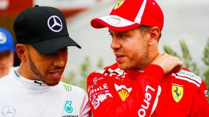 """Hamilton neemt het op voor concurrent: """"Media moeten meer respect tonen voor Vettel"""""""