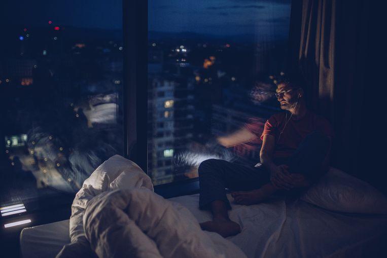 Als dj ben je 's nachts echt de vriend van de luisteraar. Beeld Getty Images
