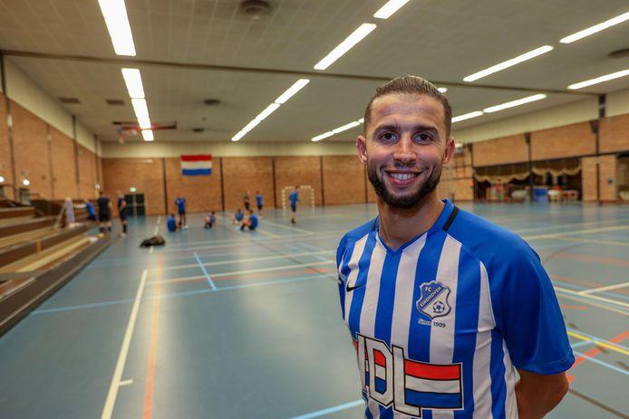 Bilal Achenteh scoorde voor FC Eindhoven.