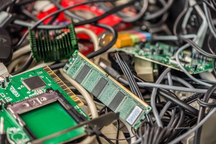 'E-waste' of elektronisch afval.