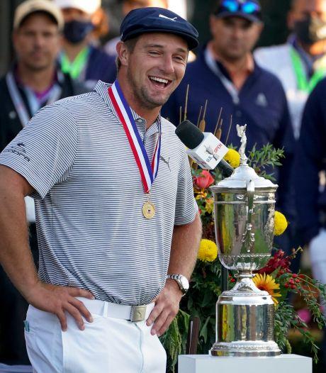 Golfer DeChambeau wint US Open
