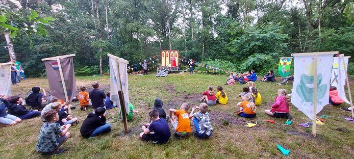 Het zomerkamp van de Veldhovense scouting Sint Stanislaus Kostka vindt plaats in het Belgische Sint Niklaas.