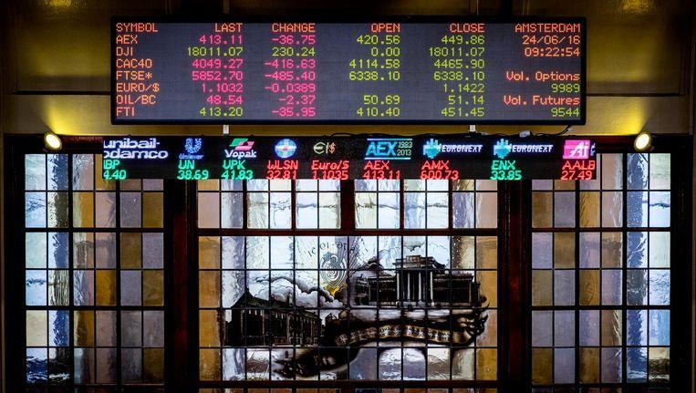 De Amsterdamse effectenbeurs is donderdag hoger geopend. Beeld anp