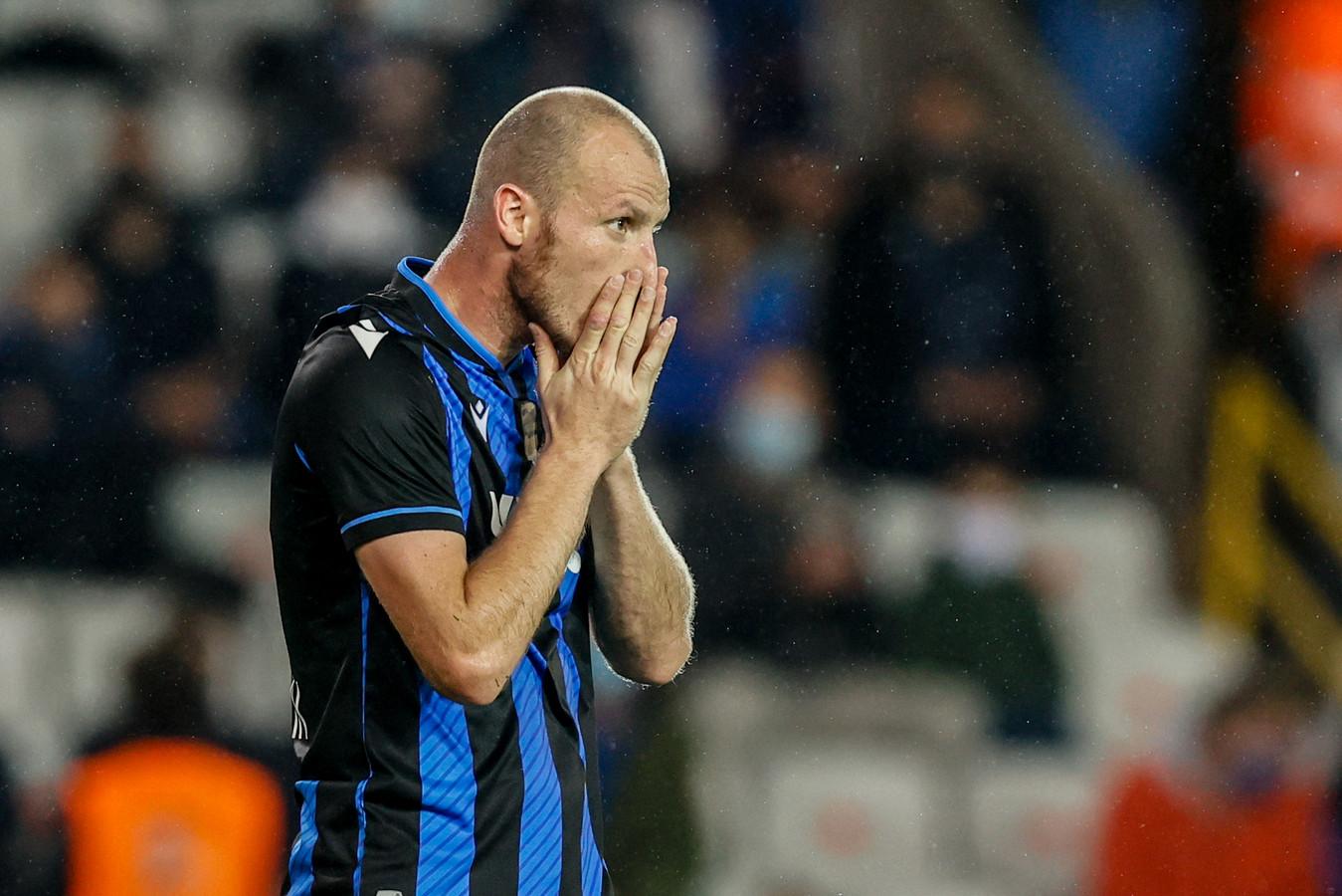 Club Brugge-aanvaller Michael Krmencik behoort tot het viertal dat een positieve coronatest heeft afgelegd.