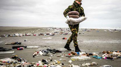 """Zelfs militairen schrikken van enorme rotzooi op Nederlands eiland: """"Dit is verschrikkelijk"""""""