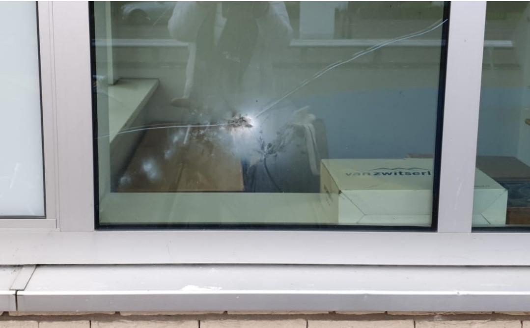 Vernielingen aan de onderkomens van Mikz, in gebouw Caleidoscoop in Vlijmen
