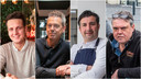 Uitbaters Jerome Fontaine, Dirk Hendrickx, Peppe Giacomazza en Piet Panis.