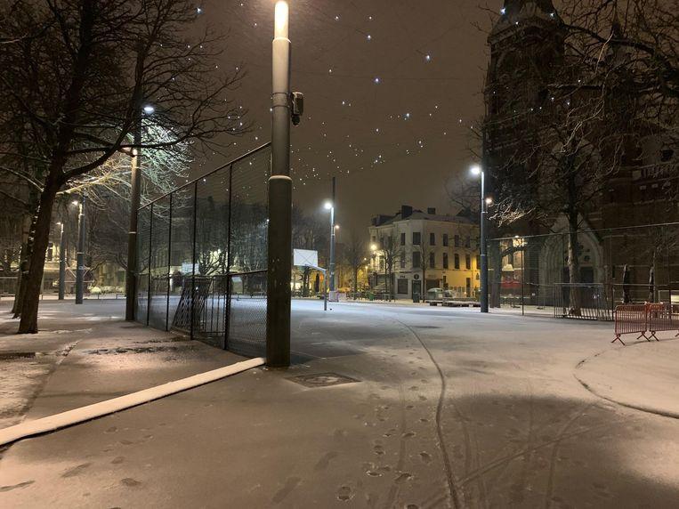 Het Dageraadplaats in Antwerpen. Beeld jv