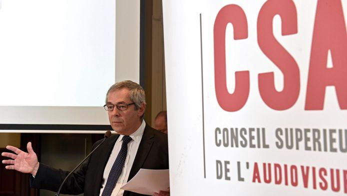 Dominique Vosters, président du CSA.